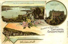CONSTANTINOPLE = Souvenir Du Grand Hotel CONTINENTAL   1536 - Turquie