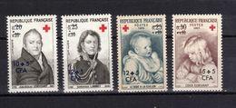 REUNION  Timbres Neufs ** De 1964-1965  ( Ref 1725 F ) Croix-rouge - Unused Stamps