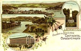 CONSTANTINOPLE = Souvenir Du Grand Hotel CONTINENTAL 2  1537 - Turquie