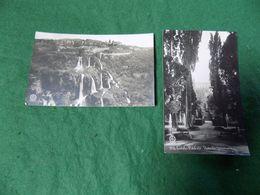 VINTAGE ITALY: ROMA Tivoli X2 B&w Chauffourier - Parks & Gardens