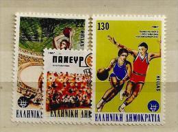 1987 MNH Greece, Griechenland, Griekenland, Postfris - Greece