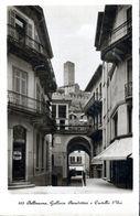CPSM (PAS DE DATE) - BELLINZONA, LE BAZAR DE AGOSTINI ET SUR LA COLLINE LE CHATEAU D'URI - - TI Ticino