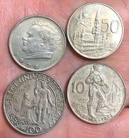Austria 2 1928 Belgio 50 1958 Cecoslovacchia1 00 1948 + 10 1954 D.1015-1016 - Austria