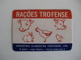 Rações Trofense Trofa Portugal Portuguese Pocket Calendar 1986 - Calendriers