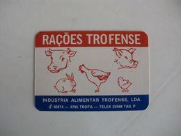 Rações Trofense Trofa Portugal Portuguese Pocket Calendar 1985 - Calendriers
