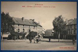 CPA 12 L'AVEYRON - SEVERAC LE CHATEAU - Avenue De La Gare - Autres Communes