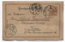 Austria In Czechoslovakia IGLAU JIHLAVA POSTAL CARD 1898 - 1850-1918 Imperium