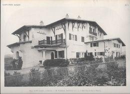 HABITATION BASQUE - PL.7. Villa De M. CABANY à CIBOURE - M. GODBARGE, Architecte à Saint-Jean De Luz Et Biarritz - Arquitectura
