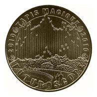 Monnaie De Paris , 2010 , Jaunay-Clan , Futuroscope , Tapis Magique 2010 - Monnaie De Paris