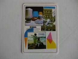 Indústria E Comércio De Texteis Borga Trofa Portugal Portuguese Pocket Calendar 1988 - Calendriers