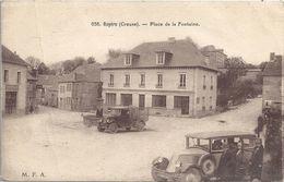 CPA Royère Place De La Fontaine - Royere