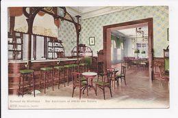 CP SUISSE Kursaal De MONTREUX Bar Américain Et Entrée Des Salons - VD Vaud