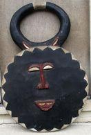 Masker Van De Baoule Uit Ivoorkust - Masque Des Baoule De La Côte D'Ivoire - Art Africain
