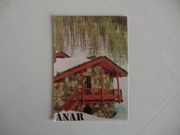 Anar Fábrica De Tintas Vernizes E Colas Trofa Portugal Portuguese Pocket Calendar 1989 - Calendriers