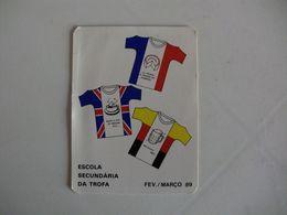 Escola Secundária Da Trofa Portugal Portuguese Pocket Calendar 1989 - Calendriers