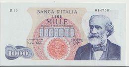 ITALY  P. 96a 1000 L 1962 UNC - 1000 Lire