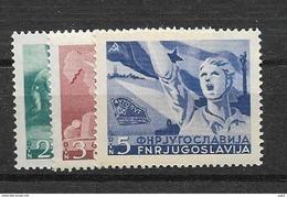 1950 MNH Joegoslavië, Postfris** - Nuovi