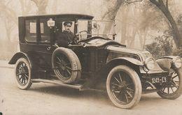 CPA THEME AUTOMOBILE / CARTE PHOTO / VEHICULE RENAULT / TYPE CB 1912 / TRES BON PLAN - Voitures De Tourisme