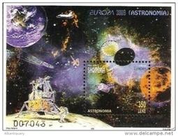 Albania Stamps 2009. Europa CEPT Astronomy Space. Block MNH - Albanien