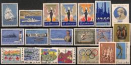 NB - [828587]TB//**/Mnh-Grèce 1967-68 - Tb Lot **/mnh, Jeux Olympiques, Bateaux, Antiquité, Militaria, SC - Greece