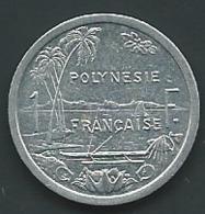 POLYNESIE FRANCAISE . 1 FRANC 1993 . ALUMINIUM - Laupi 12602 - Polynésie Française