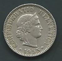 SUISSE 5 RAPPEN - 1955    Laupi 12704 - Suisse