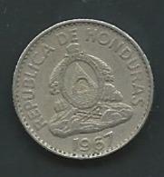 HONDURAS 1967: 20 Centavos Laupi 12713 - Honduras