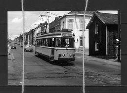PHOTO TRAM 80 WILBEAUROUX ROUX CHARLEROI   REPRO - Tramways