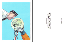 MONTEYS : Exlibris DARGAUD 2019 Pour UNIVERS - Ex-libris