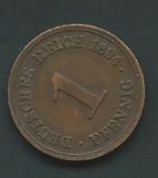 DEUTSCHES REICH - 1 Pfennig 1894  Laupi 12804 - [ 2] 1871-1918 : Imperio Alemán
