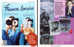 BILAL : Catalogue FRANE LOISIRS 181 - Bilal
