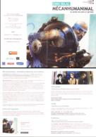 BILAL : Depliant Exposition MECAHUMANIMAL 2013 - Bilal