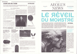 BILAL : Plaquette AEOLUS NEWS - Bilal