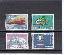 Suisse - Année 1962 - Neuf** - N°Zumstein 385/88**- Timbres De Propagande - Suisse