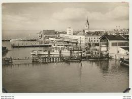 AK  Friedrichshafen Am Bodensee Fähr Hafen 1959 - Friedrichshafen