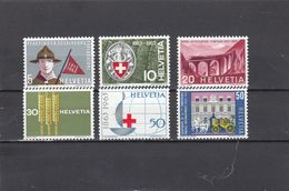 Suisse - Année 1963 - Neuf** - N°Zumstein 395/00**- Timbres De Propagande - Suisse