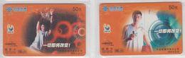 CHINA 2003 BASKETBALL YAO MING SET OF 2 PHONE CARDS - China