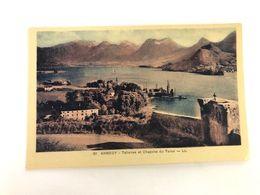 FRANCE - Savoie -  Aix Les Bains - ANNECY - TALLOIRES ET CHAPELLE DU TORON  -  1910 - POSTCARD - Aix Les Bains