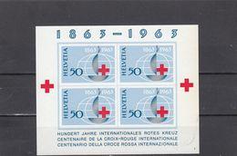 Suisse - Année 1963 - Neuf** - BF N°Zumstein 40**- Centenaire De La Croix-Rouge - Suisse