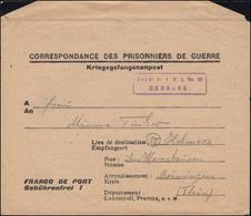 Kriegsgefangenenpost 2. WK Depot 86/119 Faverney/Haute-Saone N. Helmers/Thüring. - Lettres
