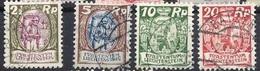 """Liechtenstein 1924/27:""""Winzer & Schlosshof Vaduz"""" Zu 64-69 Mi 65-70 Yv 63-65+67-69 Gestempelt Used (Zumstein CHF 11.75) - Liechtenstein"""