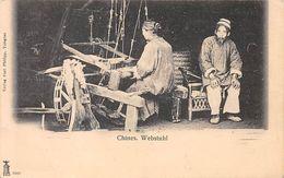 Chine - N°67622 - Webstuhl - Femme Travaillant Sur Un Métier à Tapissier - China