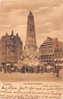 R383427 Danzig. Das Krieger Denkmal. Hermann Stuve. 1905 - Ansichtskarten