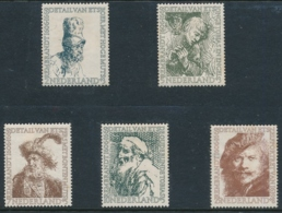 Michel 672-676 Ungebraucht/* Mit Gummi Und Falz - Unused Stamps