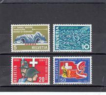 Suisse - Année 1964 - Neuf** - N°Zumstein 406/09**- Timbres De Propagande - Suisse