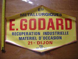 Autocollant Sticker ETABLISSEMENTS METALLURGIQUES GODARD Deco Loft Garage DIJON - Stickers