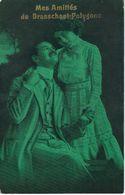 Mes Amitiés De BRASSCHAET - BRASSCHAAT POLYGONE - Cachet De La Poste 1914 - Brasschaat