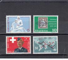 Suisse - Année 1965 - Neuf** - N°Zumstein 428/31**- Timbres De Propagande - Suisse