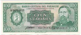 Paraguay P 205 - 100 Guaranies 1982 - UNC - Paraguay