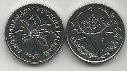 Madagascar 1 Franc 1982. KM#8 - Madagaskar